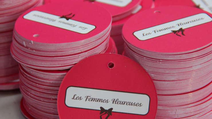 Labels Les Femmes Heureuses
