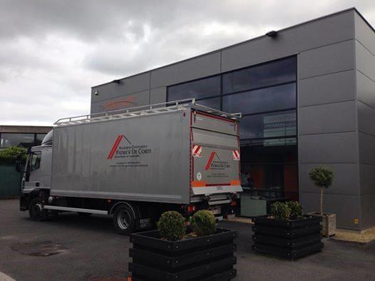Bestickering vrachtwagen