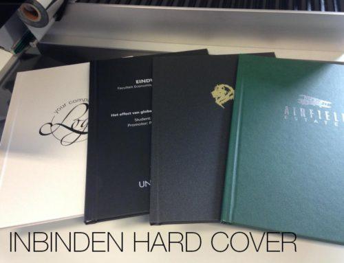 Inbinden hard cover