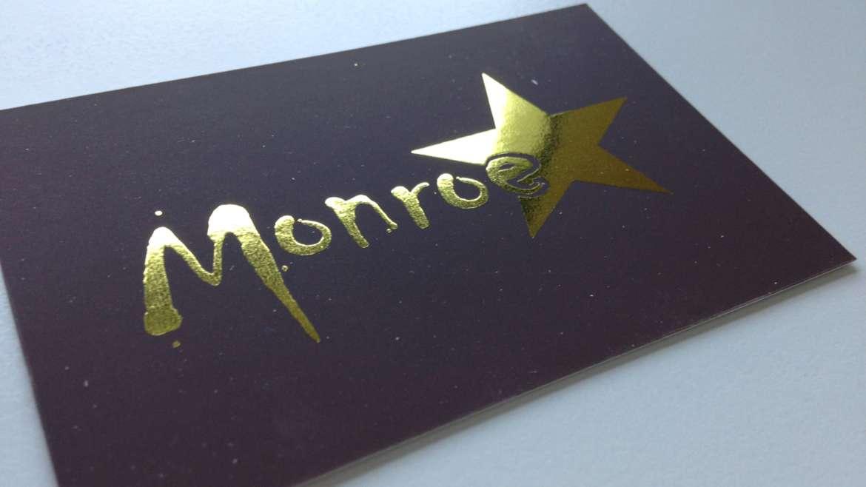Geboortekaartje Monroe